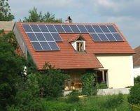 """5 kWp PV-Anlage """"demeter""""-Wegwartehof in Merkenbrechts mit Solarworld"""