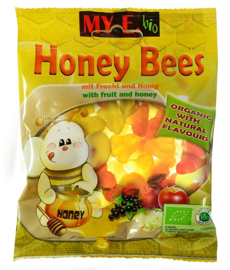 MY E Bio Honey bees 80 g