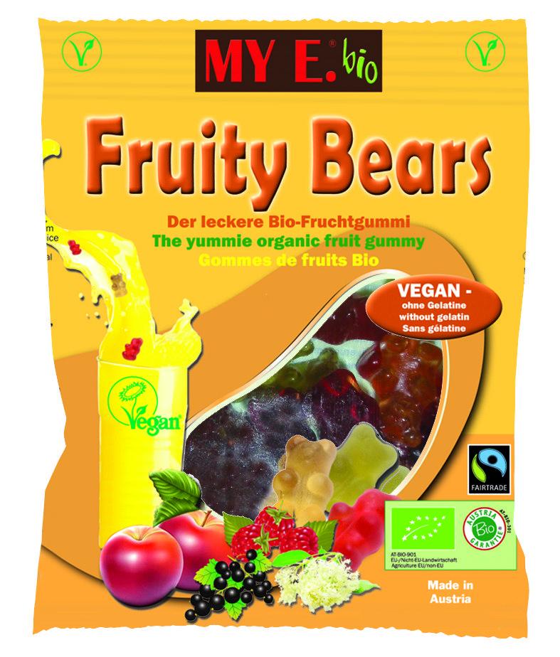 MY E Bio Fruity bearVegan 80 g